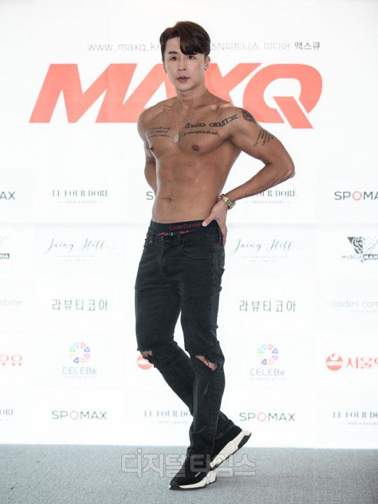 [포토] 최범, 탄탄한 구릿빛 몸매